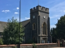 Holy Trinity from across Bromley Common (A21)