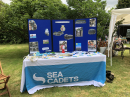 Sea Cadets stall
