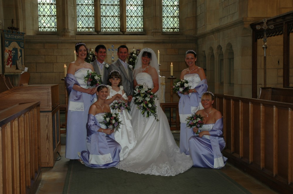 A wedding at St Mary's