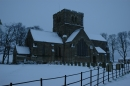 St Mary's in Winter.