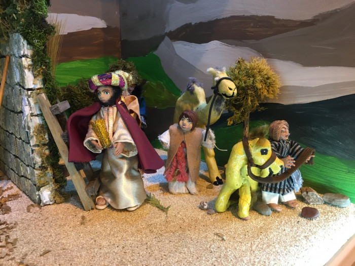 The wise men visit