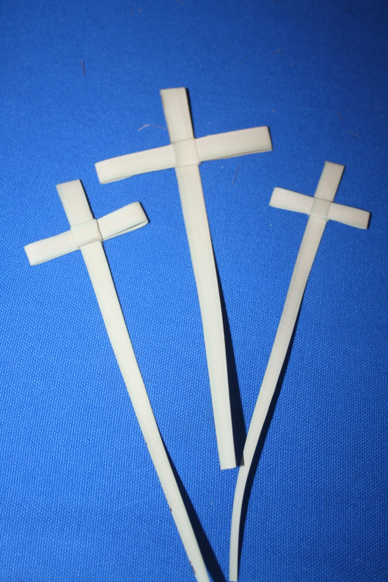 image of three crosses