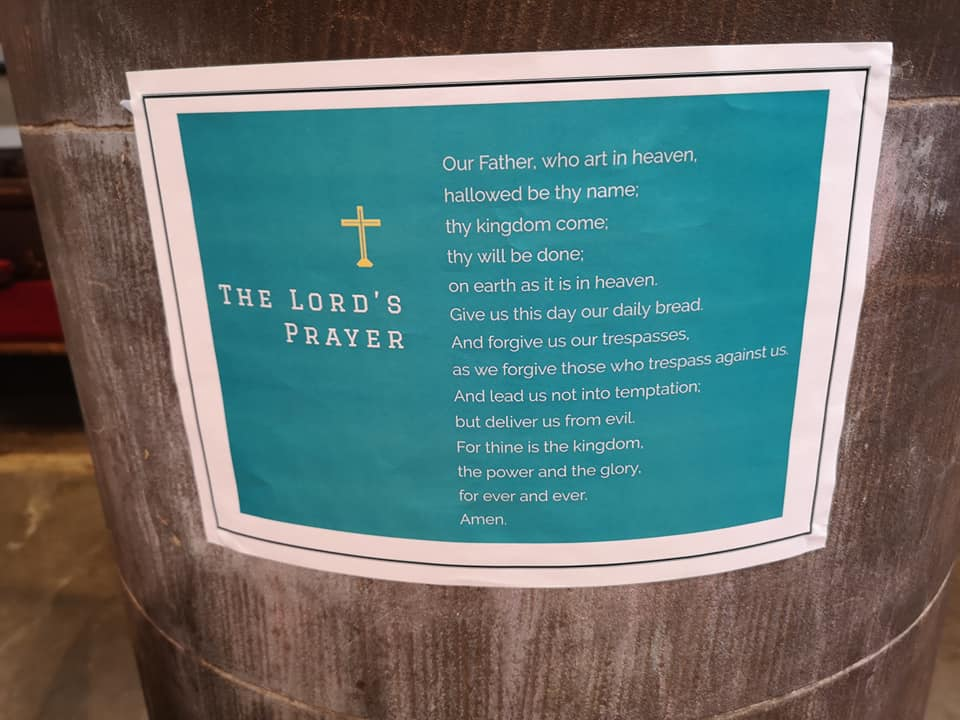 image of private prayer area in church