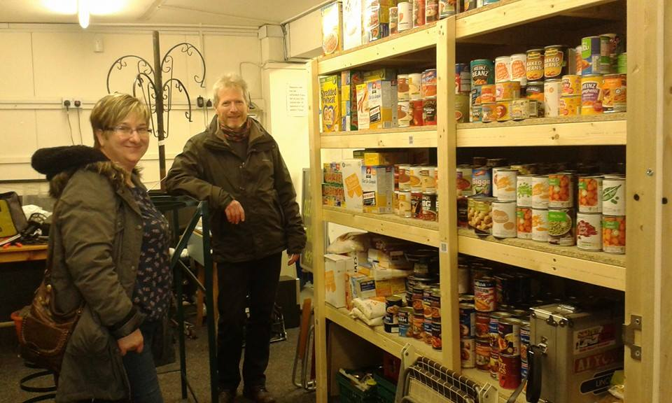 image of food bank volunteers