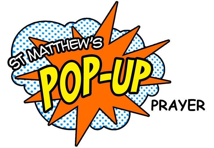 image of pop up prayer logo