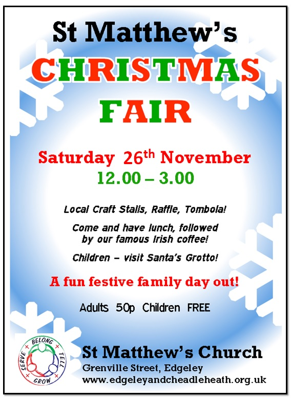 image of Christmas fair poster