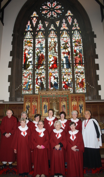 image of church choir
