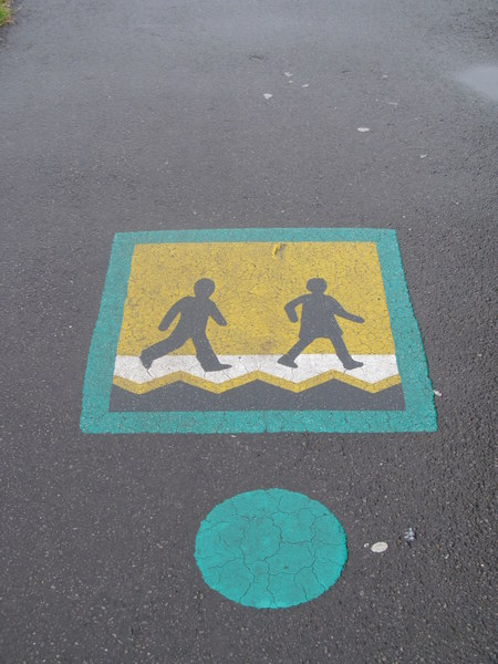 image of street sign for children