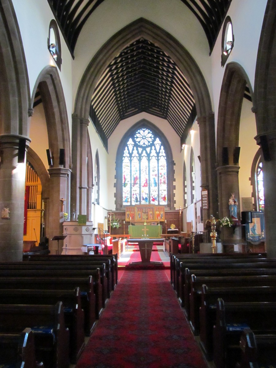 image of inside St Matthew's Church