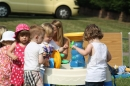 The water table was a big hit!