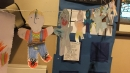 Paper dolls made by the children - who is my neighbour?