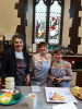 St Matthew's kitchen volunteers kept us well supplied with tea and snacks all day!