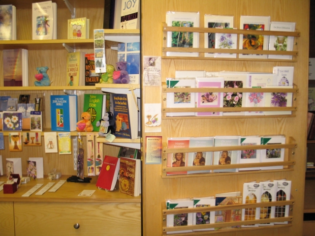 Book and card stall