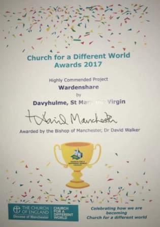 warden share award