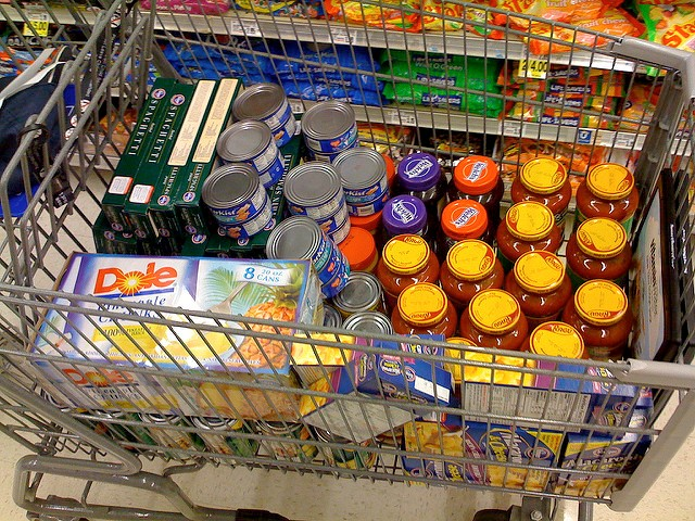 food bank basket
