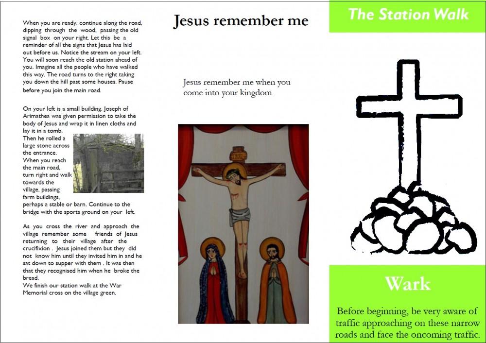 Leaflet for the Station Walk