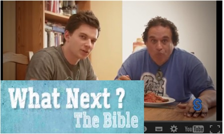 click here to watch a video - what next The Bible