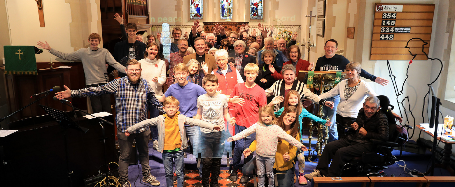 St James' Church Family group photo