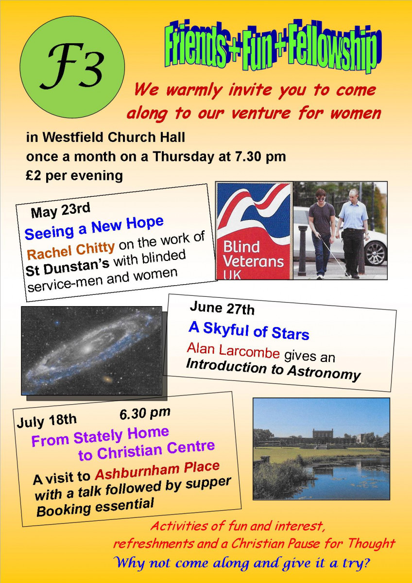 Westfield Church Hastings | F3 Women's Group