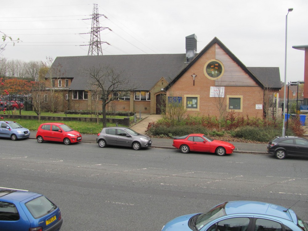 St Aidan's - front elevation