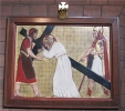 5 Simon of Cyrene helps carry the Cross of Jesus