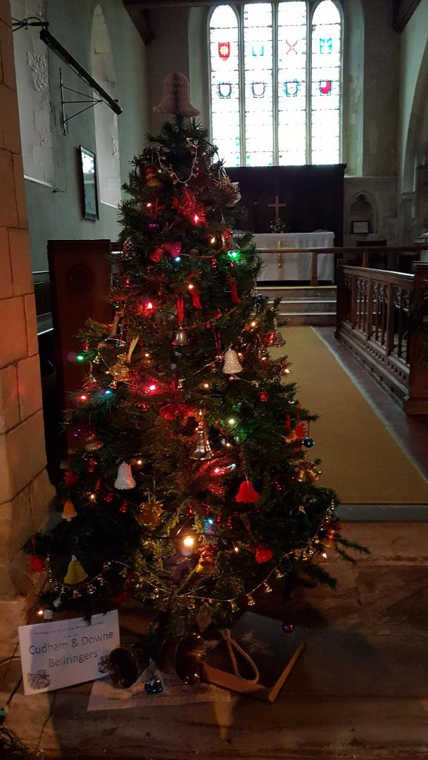 St Peter And St Paul Cudham And St Mary Downe Christmas Tree Festival