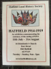 Hatfield 1914-1919 Exhibition