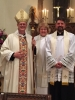 Bishop, Archdeacon and Fr. Alex