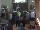 Communion at the first service
