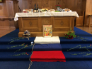 Table prepared for world day of prayer