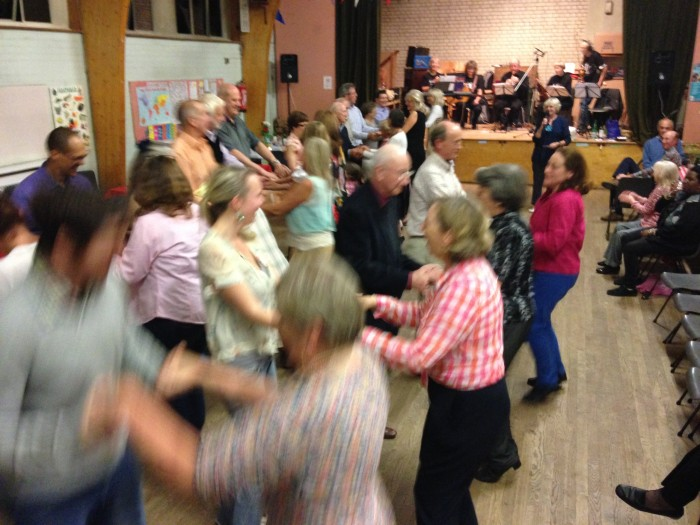 The Harvest Supper and Barn Dance in St Martins Church Hall