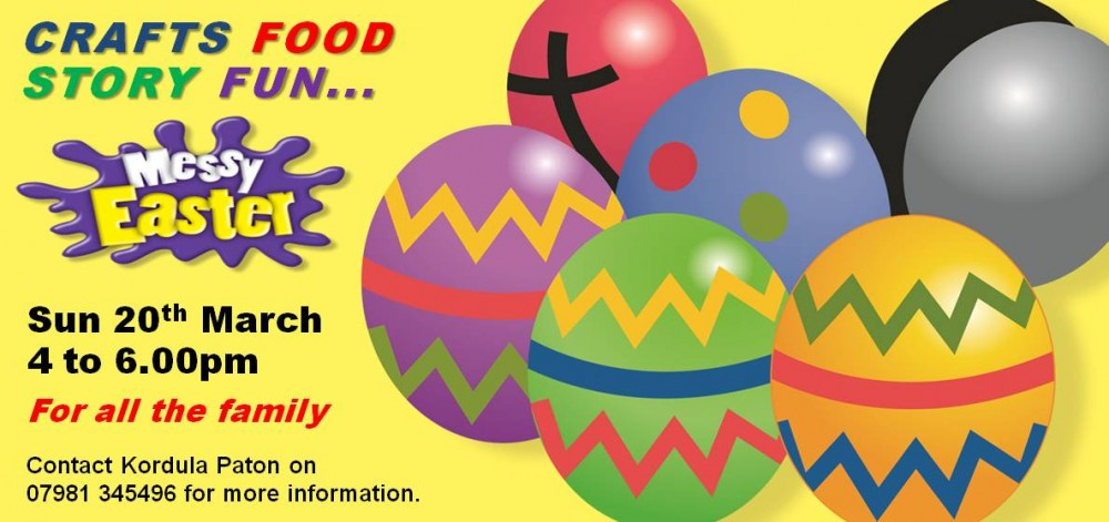 Harston Baptist Church Messy Church Easter 2016