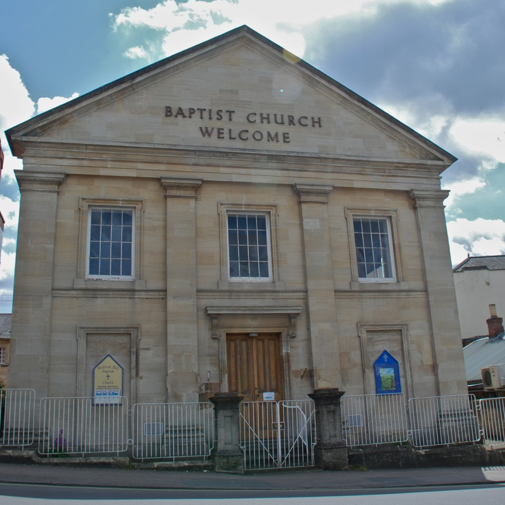 Front of Station Hill Baptist Church, Chippenham