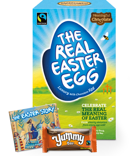 St marks reigate easter traidcraft gifts 2017 the real easter egg negle Choice Image