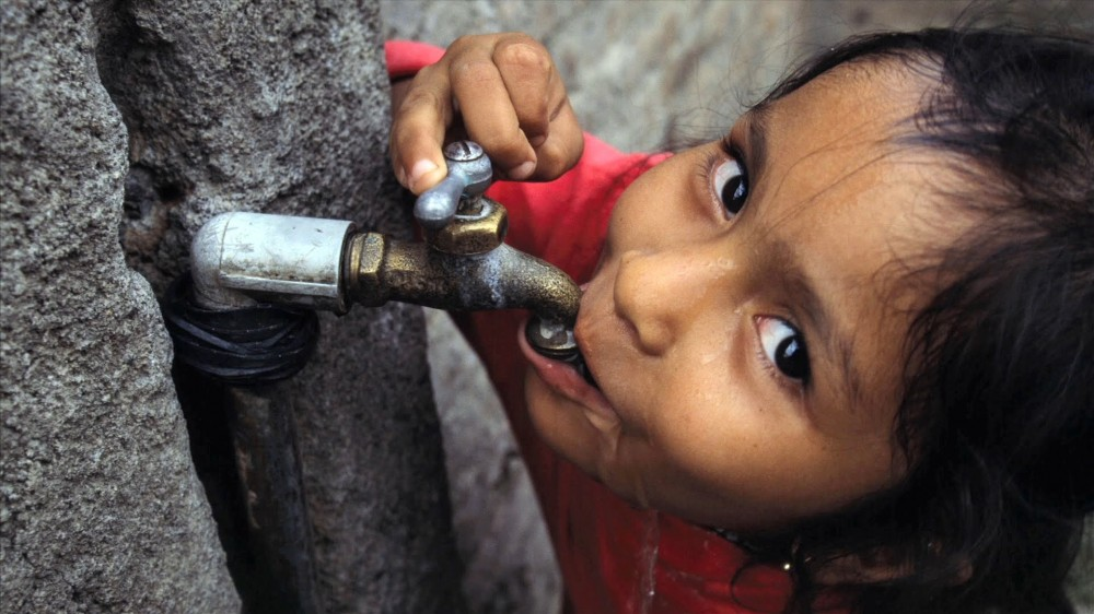 Christian Aid water tap