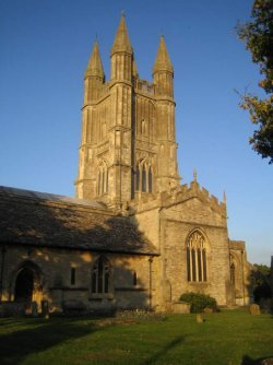 Photo of St Sampson's Church in Cricklade