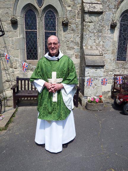 Priest-in-Charge Revd Keith Adlam