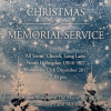 Click here to view the 'Christmas Memorial Service  ' album