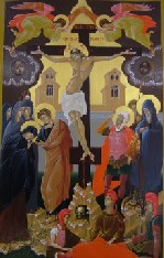 Icon of the Crucifiction