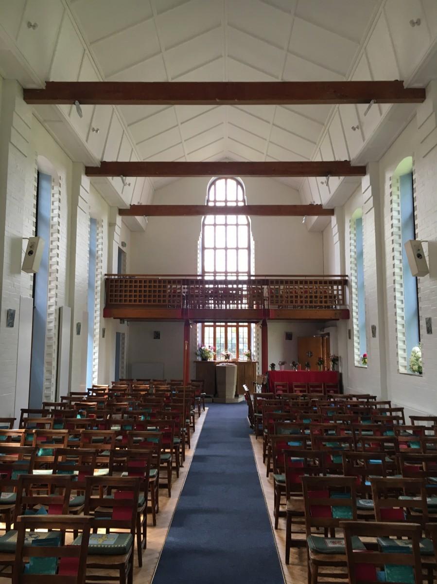 inside St John's
