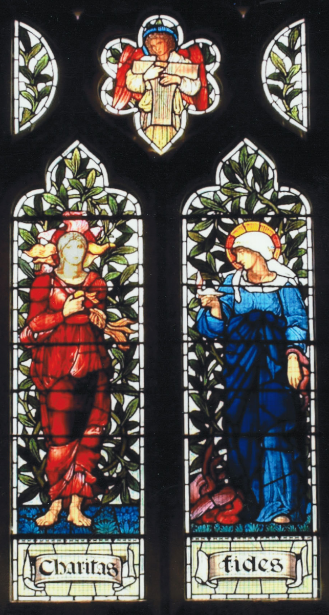 Charity cartoon, Burne-Jones