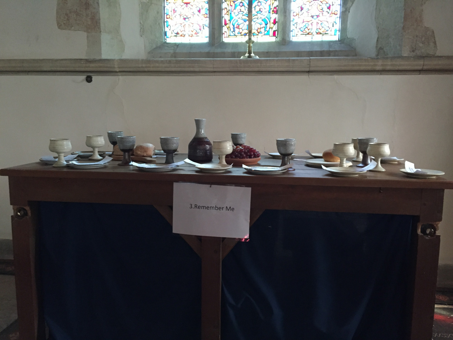 Empty Communion Table