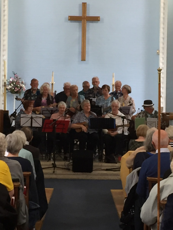 The Ukulele Band - Oct 2019 at St John's