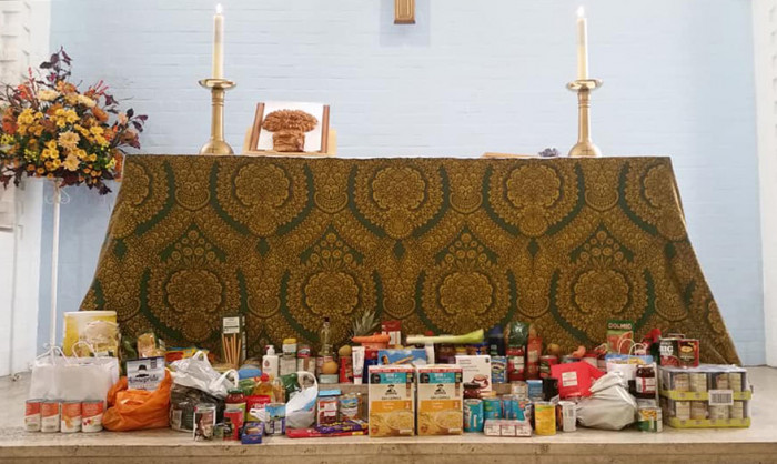 Harvest Gifts from the Harvest Service at St John's