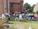 Another picture from the outdoor communion on 23 August