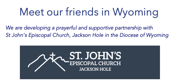 Meet our friends in Wyoming - St johns Episcopal Church, Jackson Hole