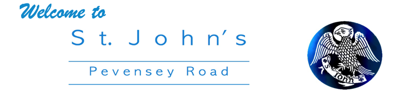 Welcome to St. John's Pevensey Road