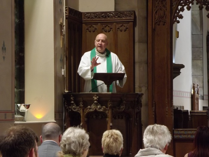 Preaching the Scriptures at St Mary's