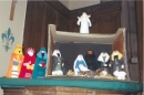 some crafty St Mary's folk have created our nativity set