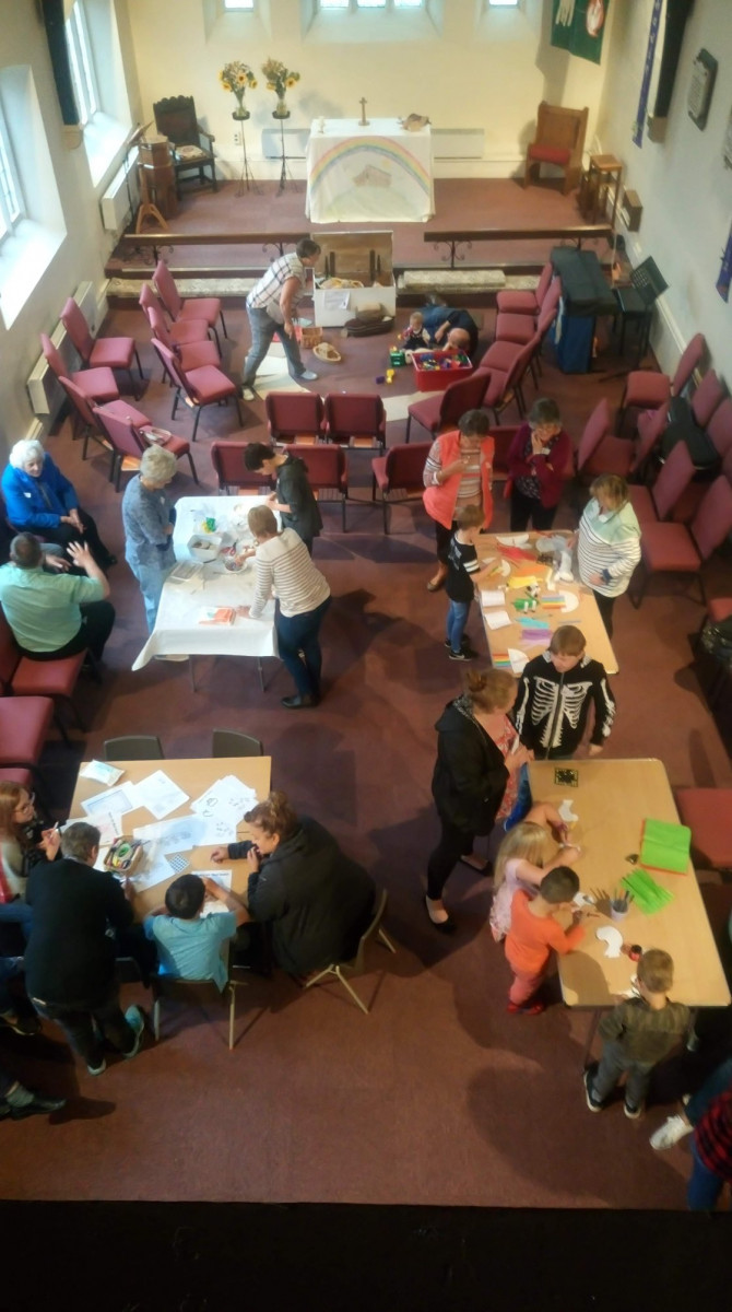 Messy Church activity picture